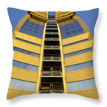Modern W Hotel Barcelona Throw Pillow by Marek Stepan