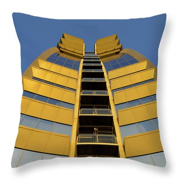 Modern W Hotel Barcelona Spain Throw Pillow by Marek Stepan