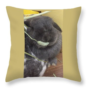Mogmog Throw Pillow by Nao Yos