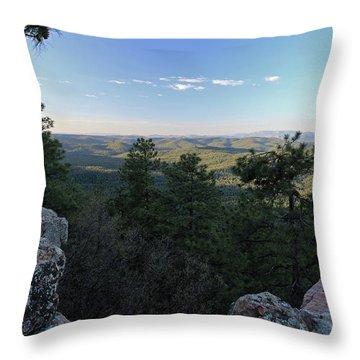 Mogollon Morning Throw Pillow by Gary Kaylor