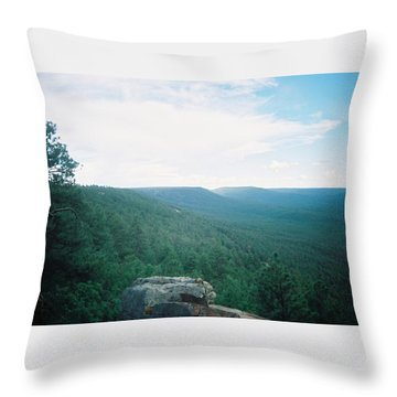 Mogollon Rim - Arizona Throw Pillow