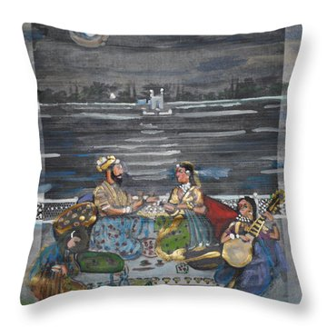 Mogul Moonlight Throw Pillow