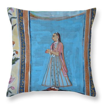 Mogul Princess Throw Pillow