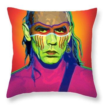 Mohawk Throw Pillow by Gary Grayson