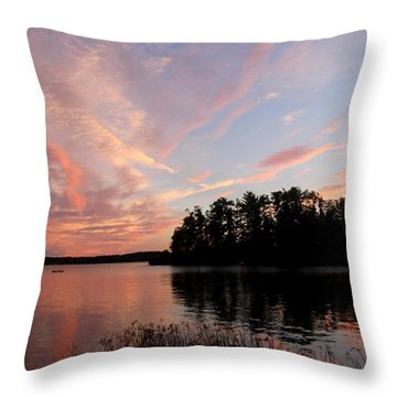 Mohawk Island Aglow Throw Pillow