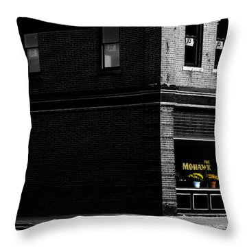 Mohawk Tavern In North Adams - The Berkshires Throw Pillow