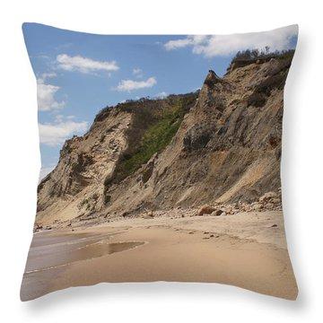 Mohican Bluffs Throw Pillow