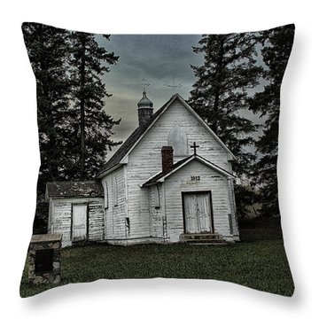 Mohilla Church Throw Pillow