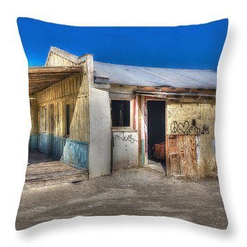 Mojave Times Throw Pillow