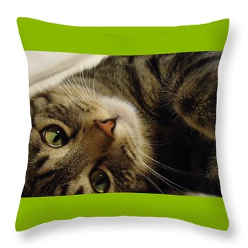 Mom Likes Me Best Throw Pillow