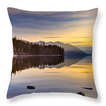 Moment Of Tranquility Throw Pillow