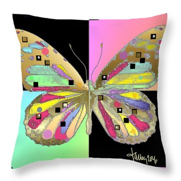 Moment Of Transformation II Throw Pillow