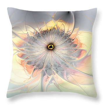 Momentary Intimacy Throw Pillow