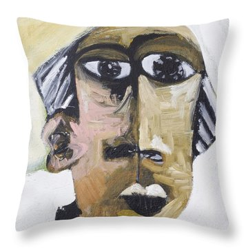 Momentis Th Old Man Throw Pillow