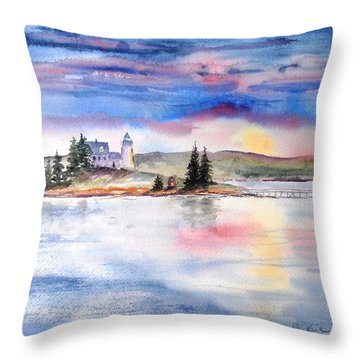 Moments Before Sunset Throw Pillow