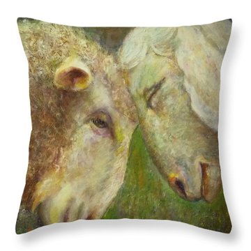 Moments Of Tenderness Throw Pillow