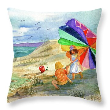 Moments To Remember Throw Pillow
