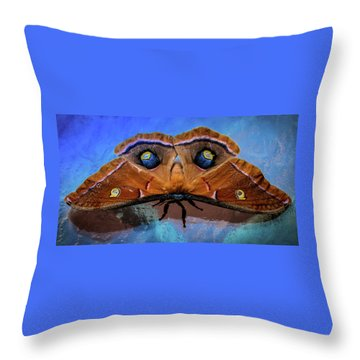 Moments We Cherish Throw Pillow by Karen Wiles