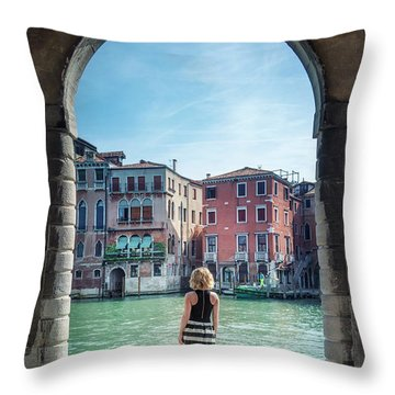 Moments Without Time Throw Pillow