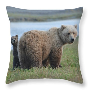 Mommy Day Care Throw Pillow