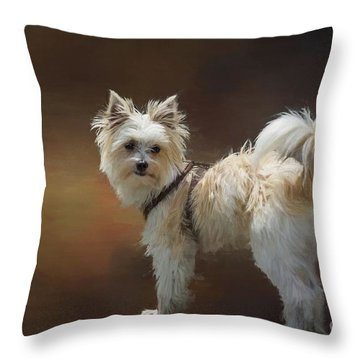Mimo Throw Pillow