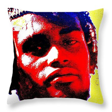 Mon Homme Denali Throw Pillow