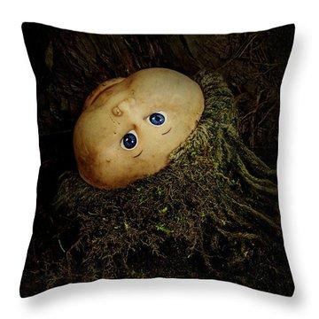 Mon Petit Chou Throw Pillow by Rebecca Sherman