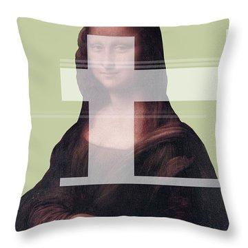 Mona 1 Throw Pillow