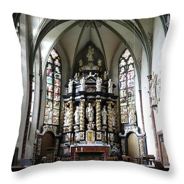 Monastery Church Oelinghausen, Germany Throw Pillow