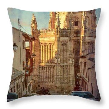Monastery Of San Juan De Los Reyes Throw Pillow