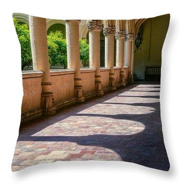 Monastery Of St Jerome Throw Pillow