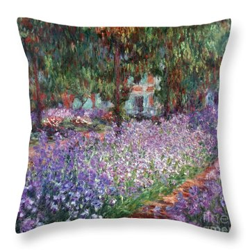 Monet: Giverny, 1900 Throw Pillow