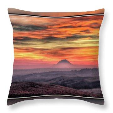 Monet Morning Throw Pillow