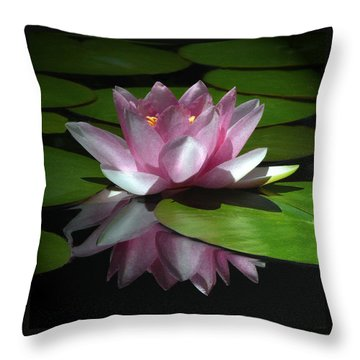 Monet's Muse Throw Pillow