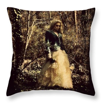 Monique 1 Throw Pillow