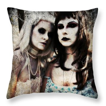 Monique And Ryli 1 Throw Pillow