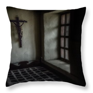 Monk's Life 17th Century  Throw Pillow