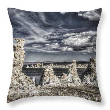 Mono Lake  2 Throw Pillow
