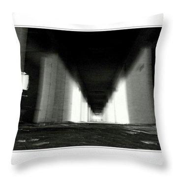 #monochrome  #fuji #finepixs1 Throw Pillow