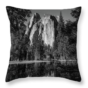 Monolith Throw Pillow by Ryan Weddle