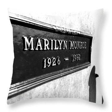Monroe Throw Pillow by Jera Sky