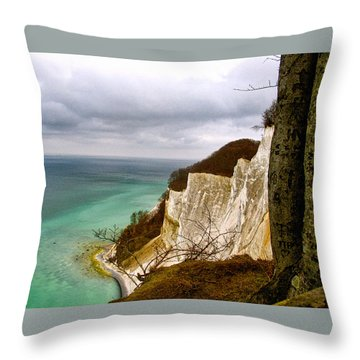 Mons Klint Throw Pillow