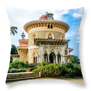 Monserrate Palace Throw Pillow