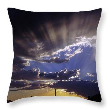 Monsoon 2014 Throw Pillow