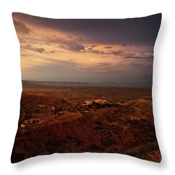 Monsoon Storm Afterglow Throw Pillow