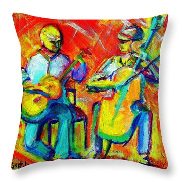 Montana Skies Performance Throw Pillow
