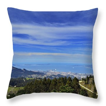 Monte Alba Vigo Throw Pillow