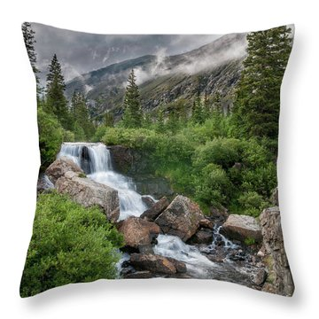 Throw Pillow featuring the photograph Monte Cristo Gulch by Bitter Buffalo Photography