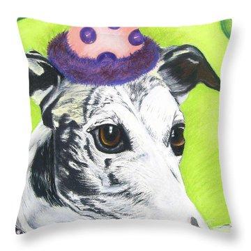 Monte Throw Pillow by Michelle Hayden-Marsan