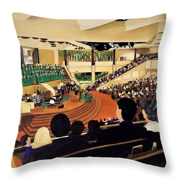 Montelle's View Throw Pillow